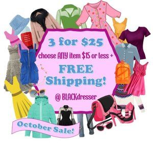 CLEARANCE * CLOSET CLEAR OUT * PROMOTION * SALE *